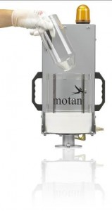 LUXOR CA S from motan-colortronic – lightweight compact dryer for small and micro parts
