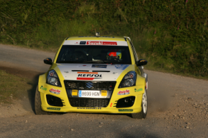 Lighter composite body panels assist Suzuki to Spanish rally win