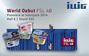 ILLIG's FSL 48 form, fill and seal line to makes world premiere at Interpack 2014