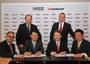 LANXESS and Hankook Tire enter into strategic technical partnership