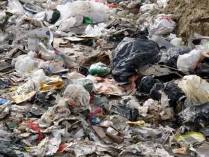 Dumping plastic in bins plays havoc