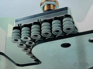 Low-leak suction plates for sheet metal handling