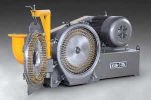 Pin Mill Controls Particle Sizes, Cleans Rapidly