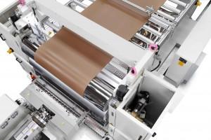 KraussMaffei Berstorff demonstrates live sheet extrusion from renewable raw materials