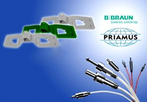 Mold temperature sensors from Priamus ensures reliable processing for medtech company B. Braun
