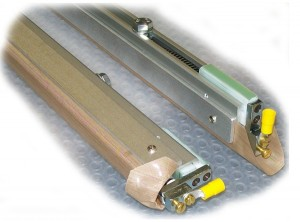 Sealing bars for converting and special machines