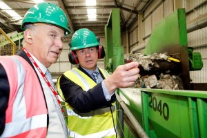 Vince Cable opens new plastic recycling line at world leading dagenham plant