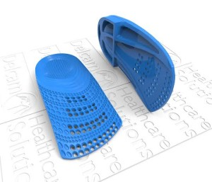 Delcam leads the way in Additive Manufacturing of 3D orthotic insoles