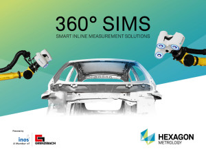 Hexagon Metrology to partner with inos / Grenzebach for 3D Process Control in the Automotive Industry