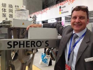 Automatik Plastics Machinery unveils new Sphero S underwater pelletizing system at CHINAPLAS 2014