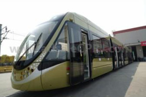 Bayer and CSR Nanjing Puzhen collaborate to create new interior designs for low-floor trams