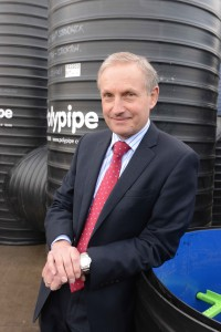 David Hall of Polypipe Elected As BPF Vice - President