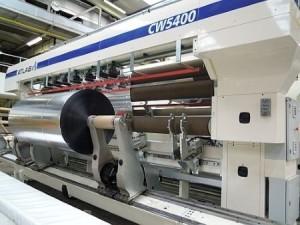OPP Film of Oben Group to install new 4.8m wide Atlas CW5400 slitter rewinder