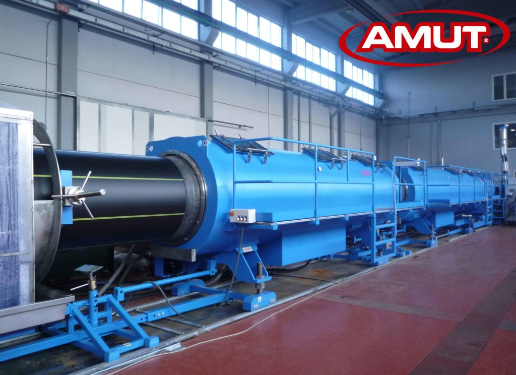 AMUT, ITALIAN MANUFACTURER OF EXTRUSION LINES FOR PIPES