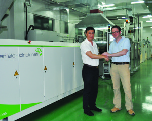 Multi-Touch continues its triumph with fourth installation in Asia