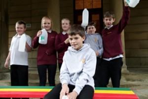 Plastic fantastic prize for school