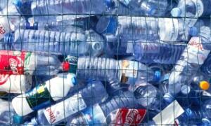 The post-consumer plastic bottle