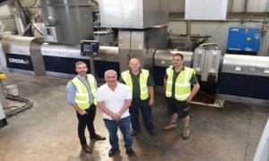 New machine doubles plastics production