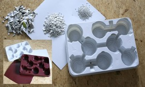 From refrigerator to plant trays – a recycling concept for a   challenging project