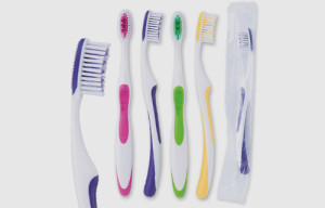soft-grip toothbrushes