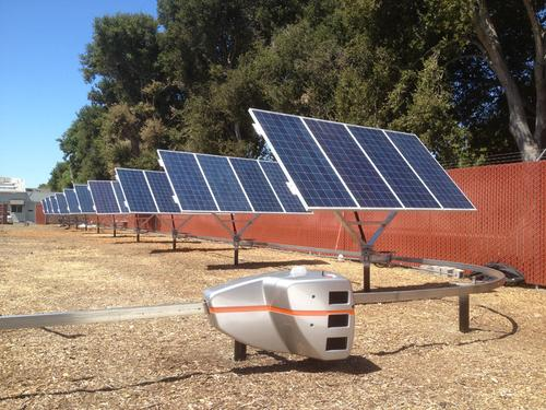 Robotic Solar Panels Produce More Electricity