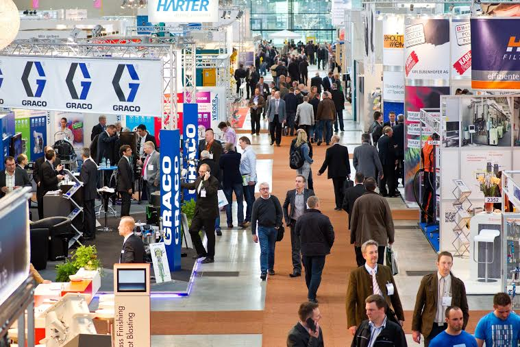5th Leading International Trade Fair for Industrial Coating Technology