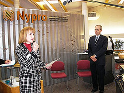 Nypro all sets to expand its arms in Ireland.