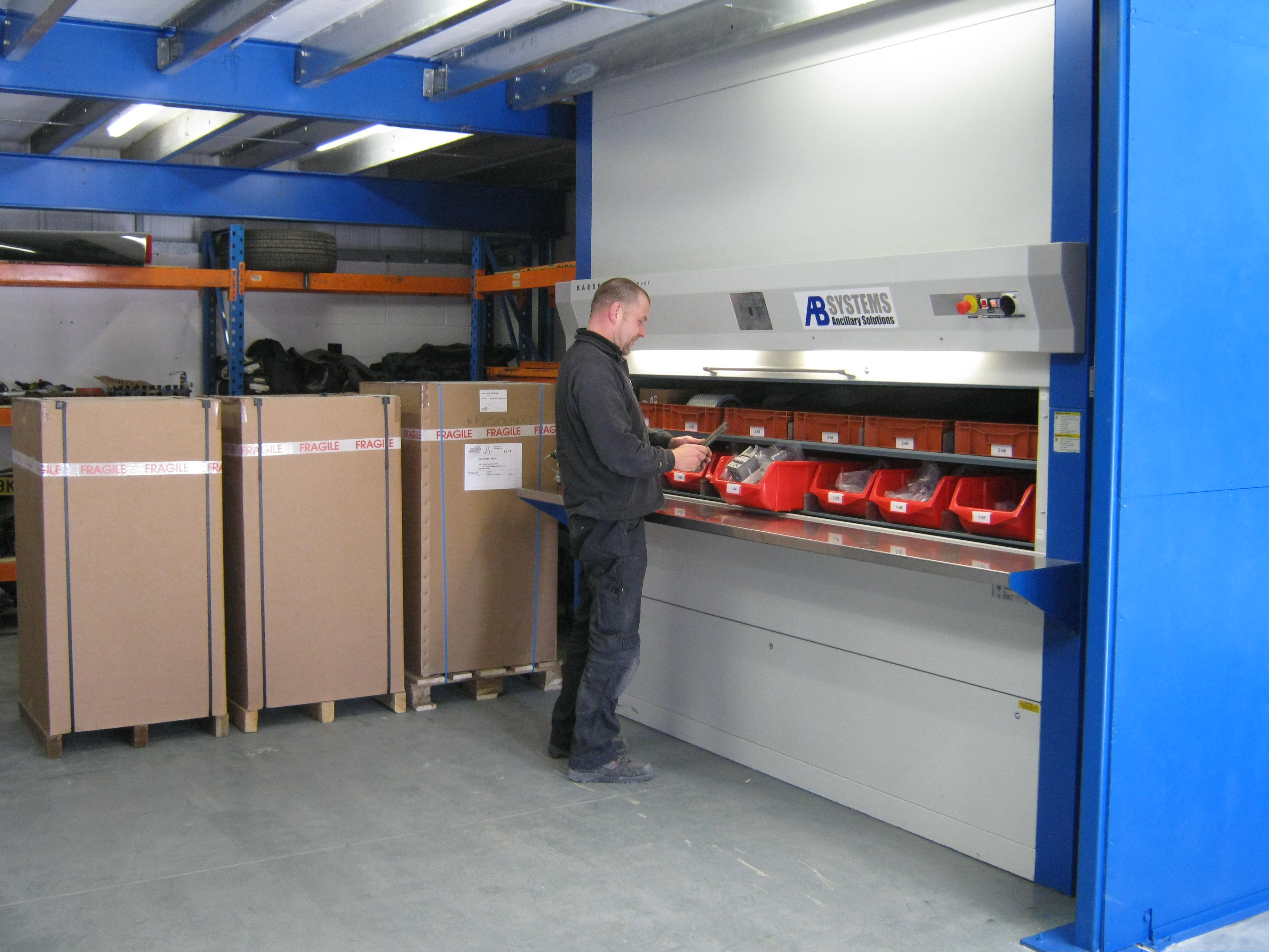 AB Systems revolutionise parts supply
