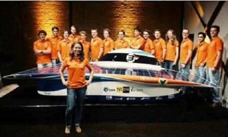 AkzoNobel coatings assist in Nuna7 solar car racing project