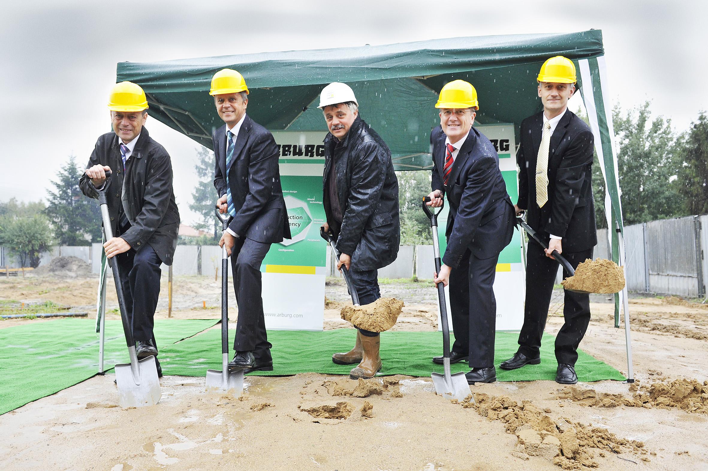 Arburg invests in Polish location