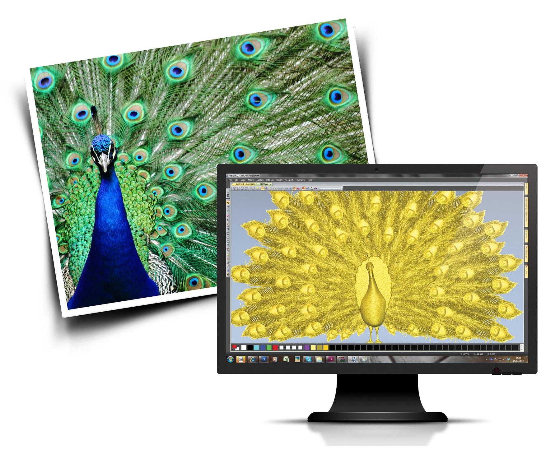 Delcam's new ArtCAM Pro makes complex artistic designs easy