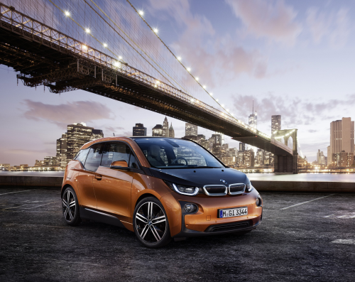 BMW trailblazing the use of composites in new i3 electric car