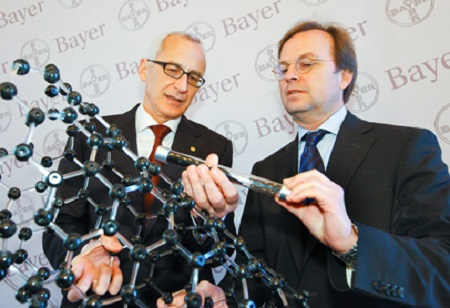 Bayer to stop research in carbon nanotubes