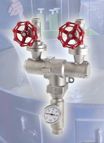 CSF Steam Water Mixer for Safe,Simple Washdown