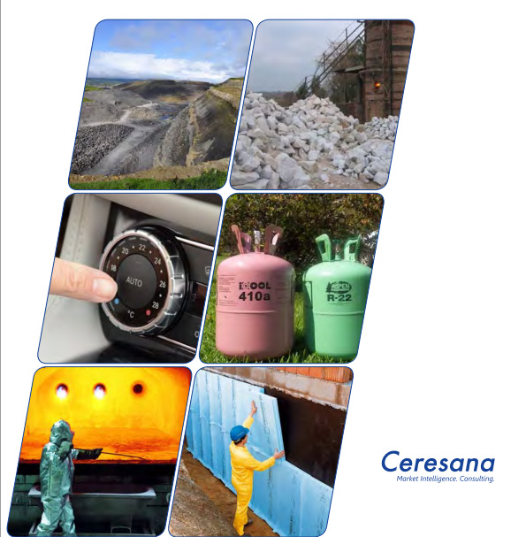 Ceresana Presents the Worldwide First Study Regarding the Complete Market for Fluorochemicals