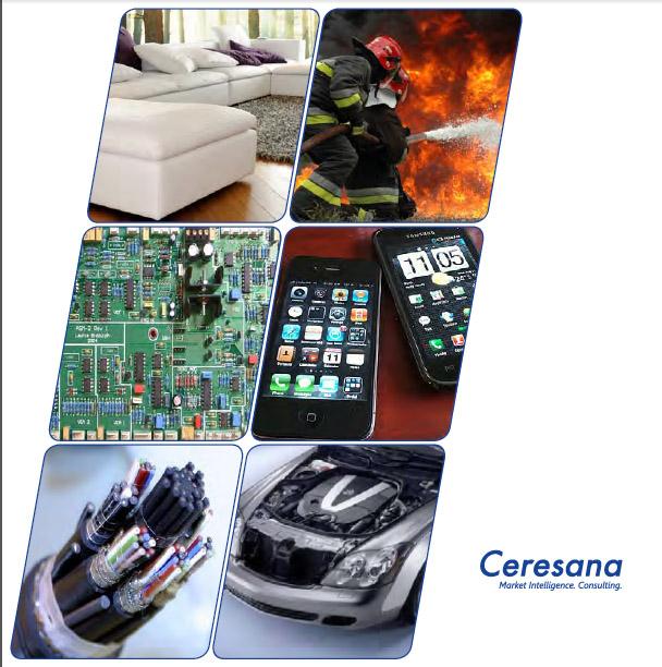 Ceresana Publishes New Market Report On Flame Retardants