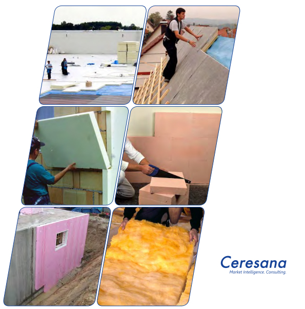 Ceresana offers the worldwide first study on the entire European market for insulation materials