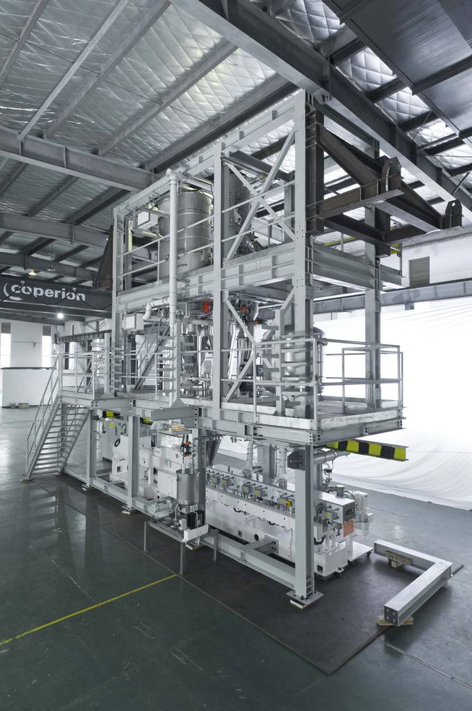 Coperion builds compounding line in Shanghai for Hexpol