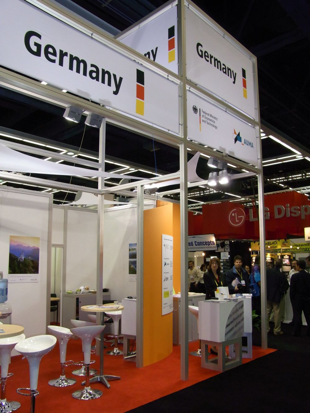 DFF strongly supporting German companies at SID Display Week 2013