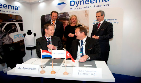 DSM dyneema and fnss sign letter of intent for future cooperation