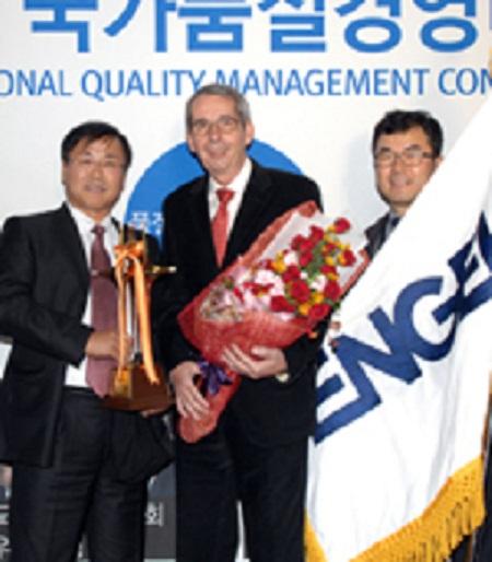 ENGEL KOREA receives National Quality Award