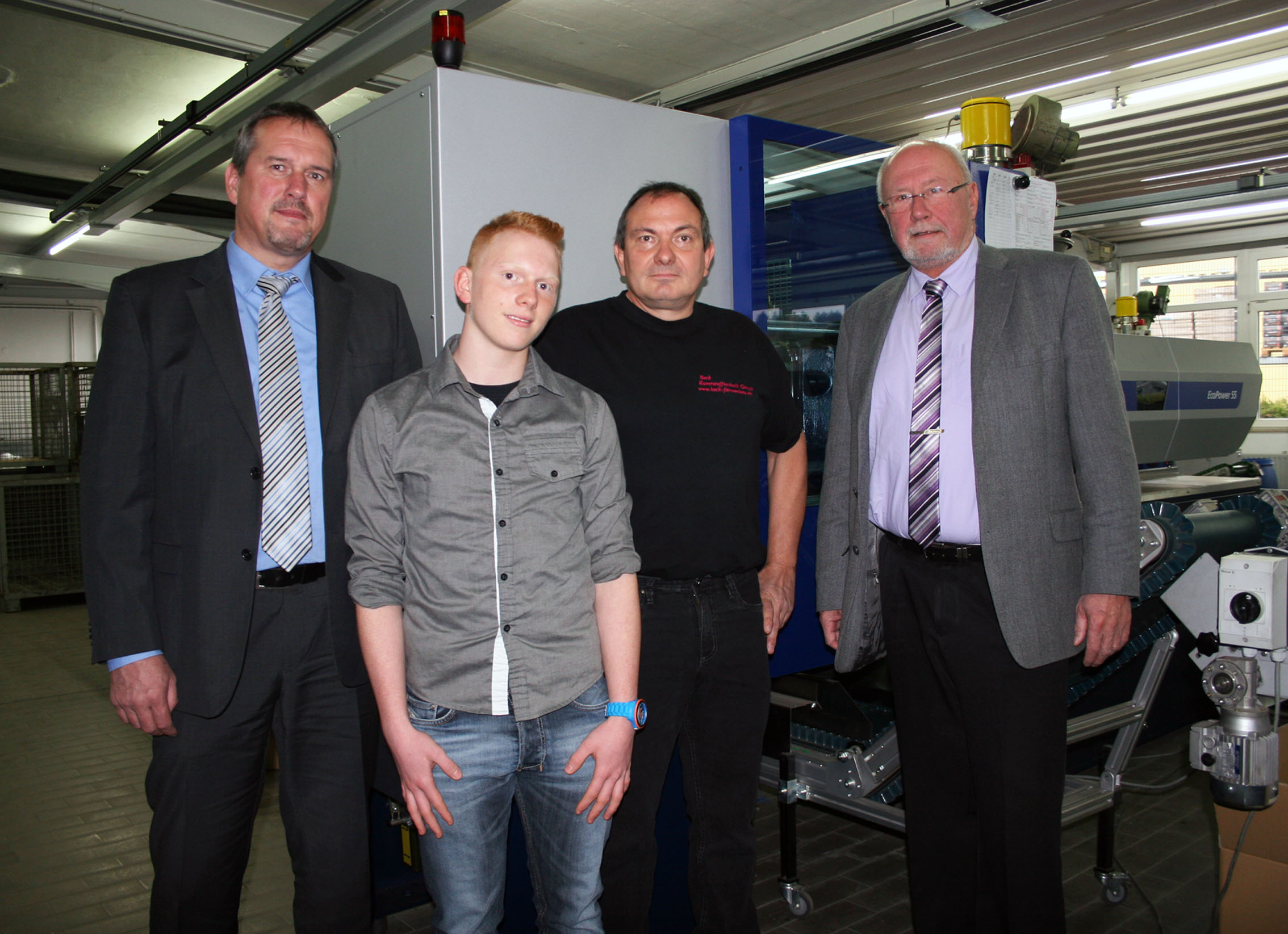 successful with latest injection molding technology from WITTMANN BATTENFELD