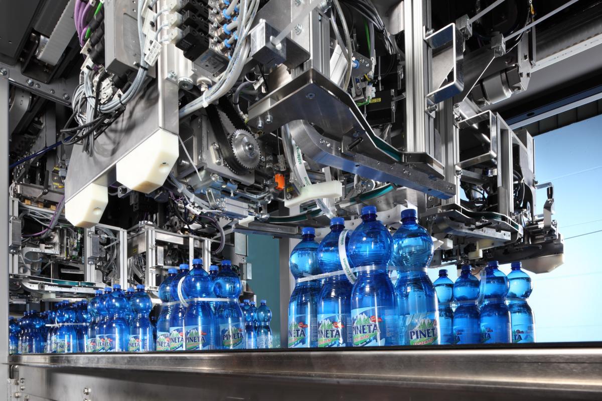 """Krones' """"invisible"""" packaging helps Italian water bottler increase sales"""