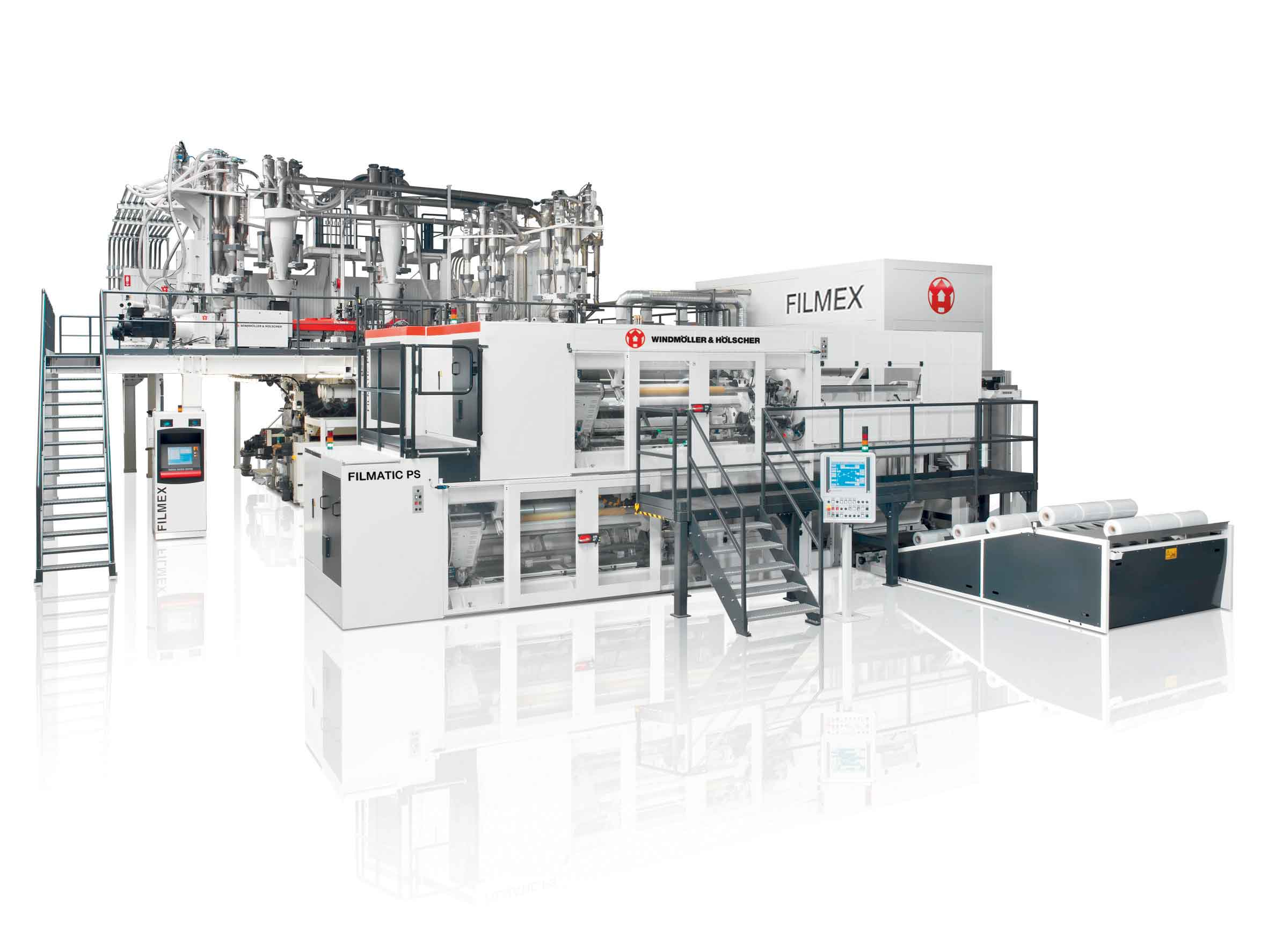 The Full Range of Extrusion Equipment W&H presents 8 operating extrusion lines