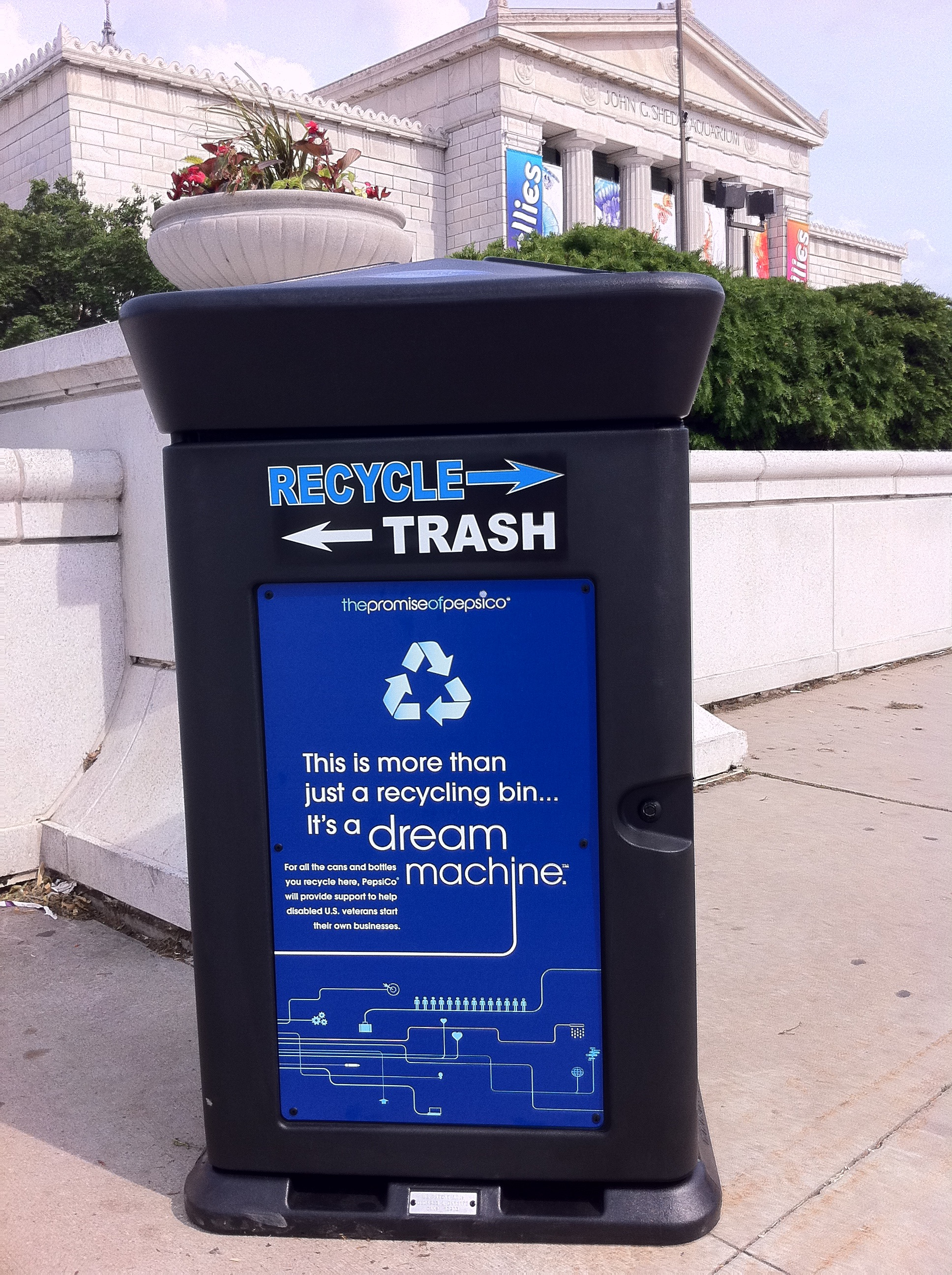 PepsiCo Dream Machine recycling initiative commemorates two years of progress