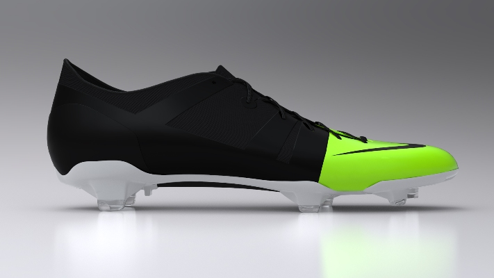 "PebaxFoam insole in new Nike ""Green Speed"" football boot"