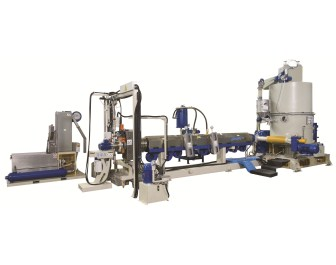 Gamma Meccanica brings along new underwater pelletizer recycling line