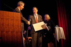MBA Polymers President and founder receives illustrious Gothenburg Award for Sustainable Development