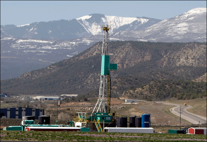 Natural gas glut means drilling boom must slow