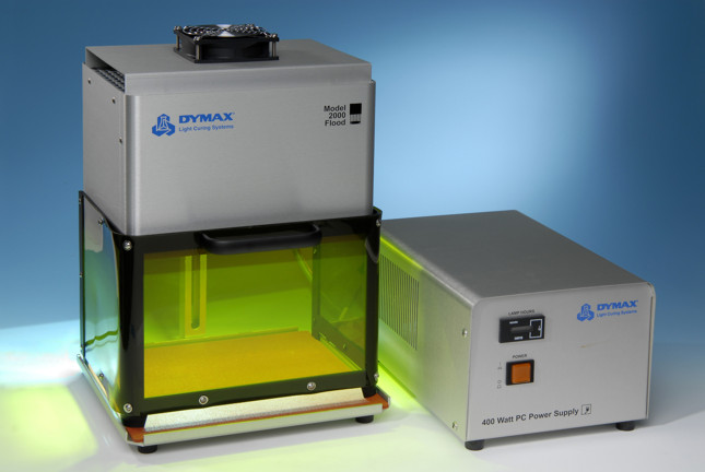 ENTRY LEVEL UV CURING FLOOD LAMP FROM INTERTRONICS FOR ADHESIVES/COATINGS/INKS